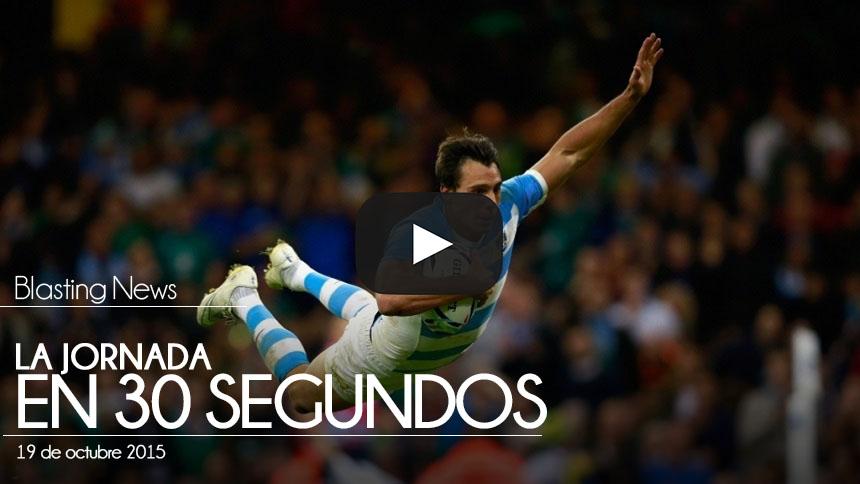 La Jornada en 30 segundos - 19 octubre 2015