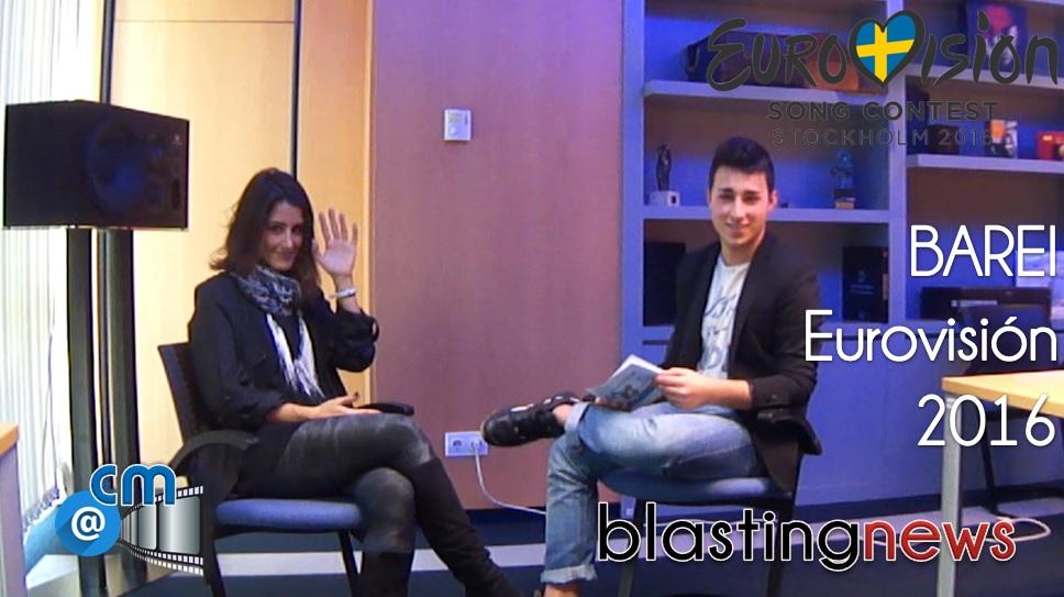 """Vídeo: Barei: """"Me presenté a un talent show famoso"""" Nos canta y nos cuenta. Entrevistamos a la candidata de Eurovisión 2016"""