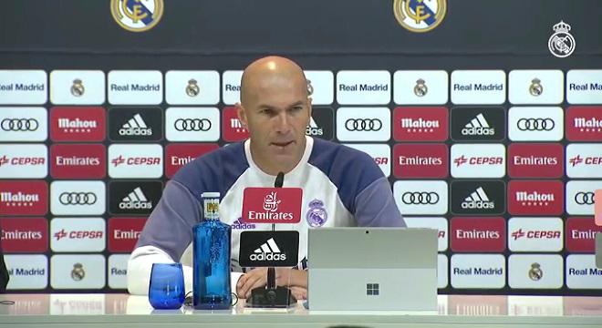 Zidane podía prescindir de un jugador del Real Madrid