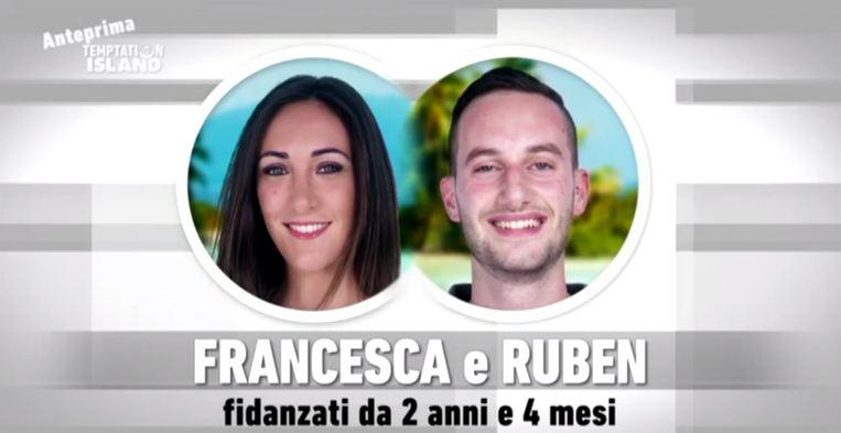 Video: Ruben e Francesca sono tornati insieme dopo Temptation? Ecco i dettagli