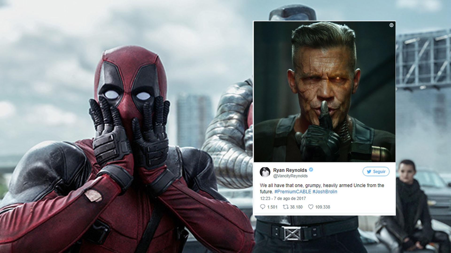 Revelado visual de Cable em Deadpool 2