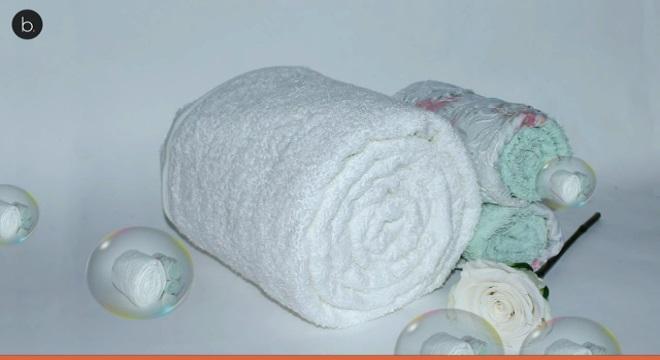 Crean una toalla para secar los pechos