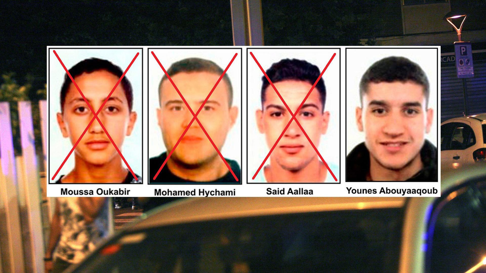 Younes Aboyaaqoub, el cabecilla del atentado en Barcelona sigue desaparecido.
