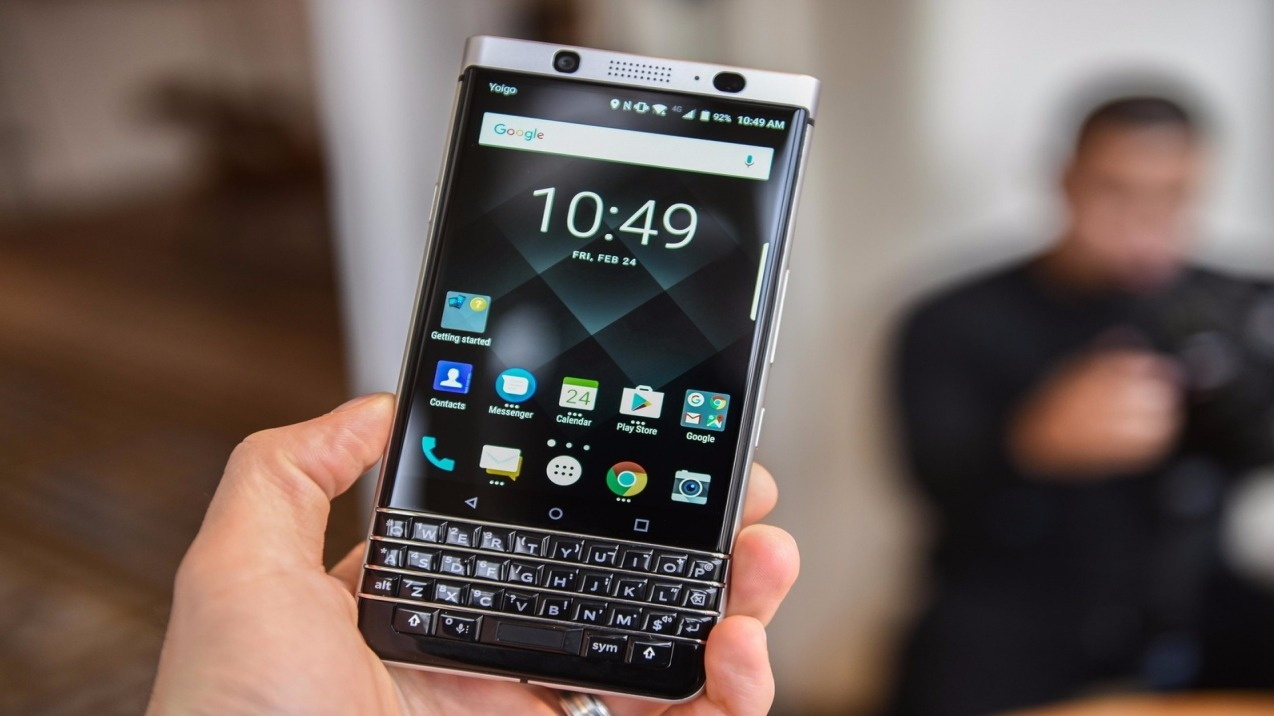 BlackBerry working on its own version of secure Android OS