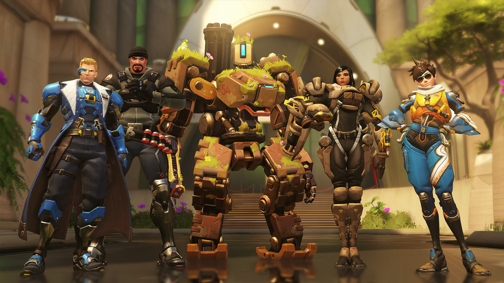 Here's how to promote combat communication in the game  'Overwatch'