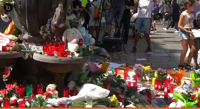 El ataque terrorista de Barcelona