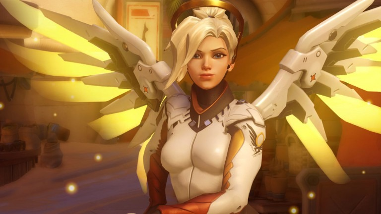 Three things new Mercy does better than the old version in the game 'Overwatch'
