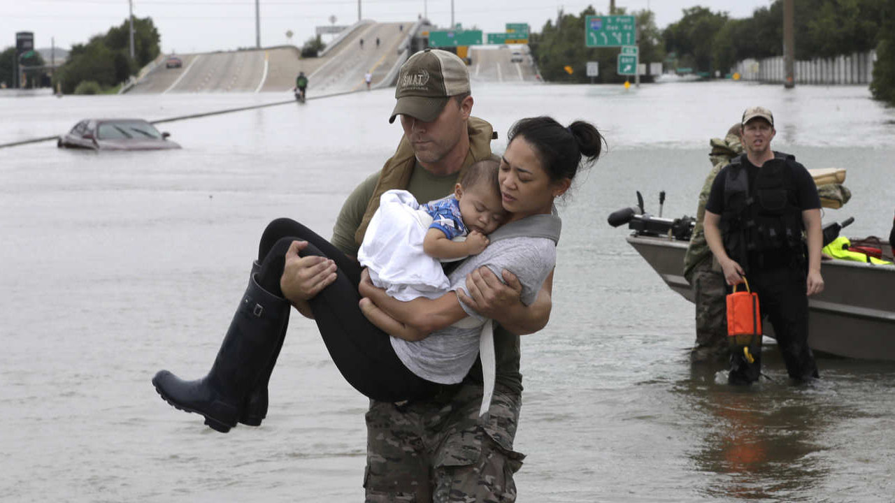 Houston reels from the aftermath of Harvey