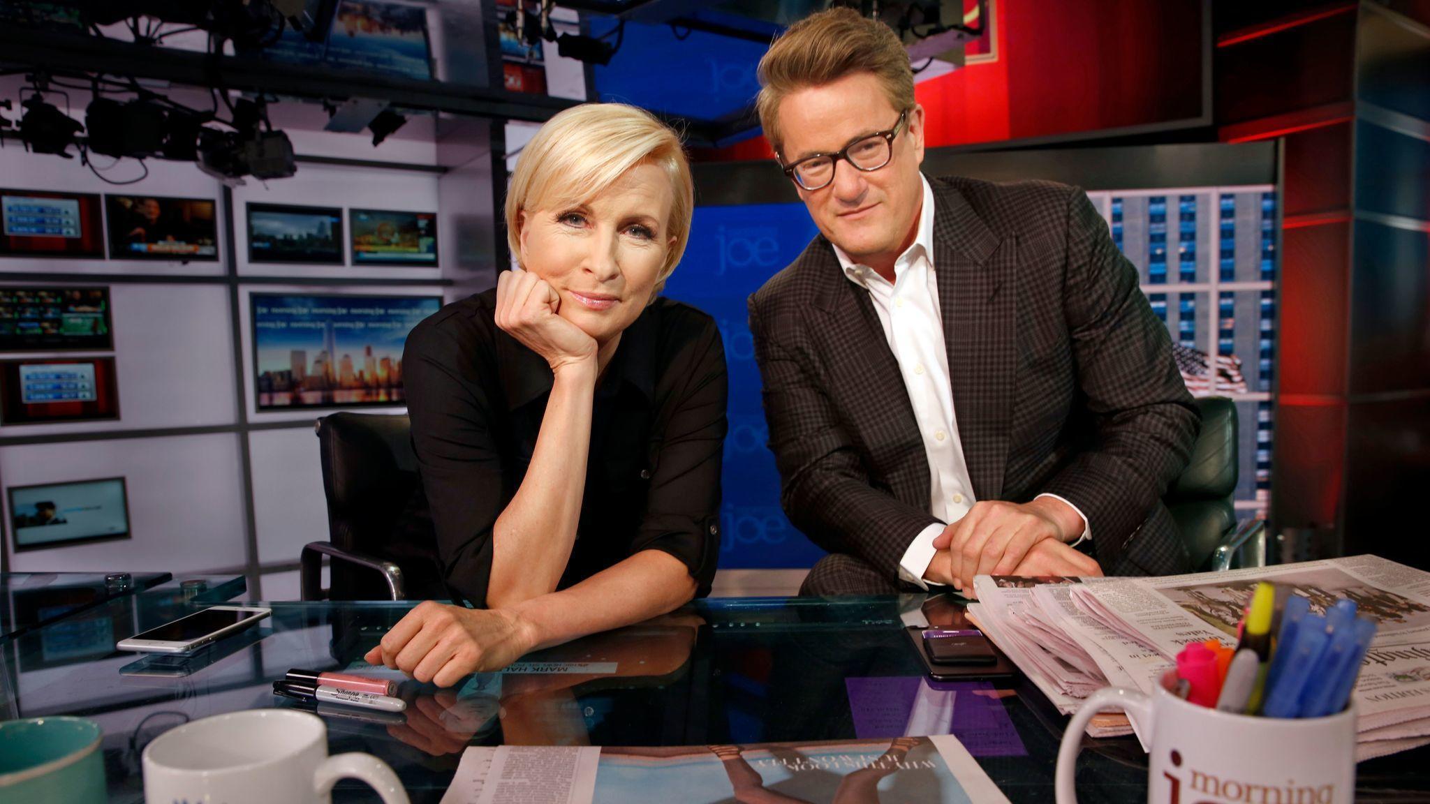MSNBC hosts troll Trump over lackluster effort to help Hurricane Harvey victims