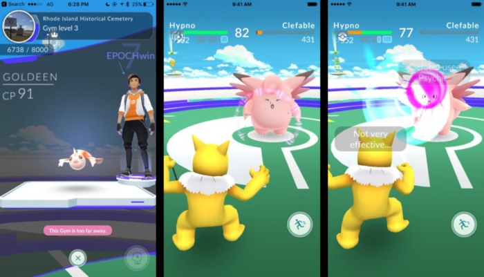 'Pokemon Go': Latest bug makes players think twice about throwing curve balls.