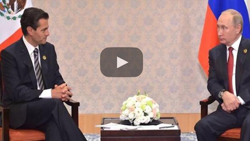 La nueva amistad (económica) entre Enrique Peña Nieto y Vladimir Putin