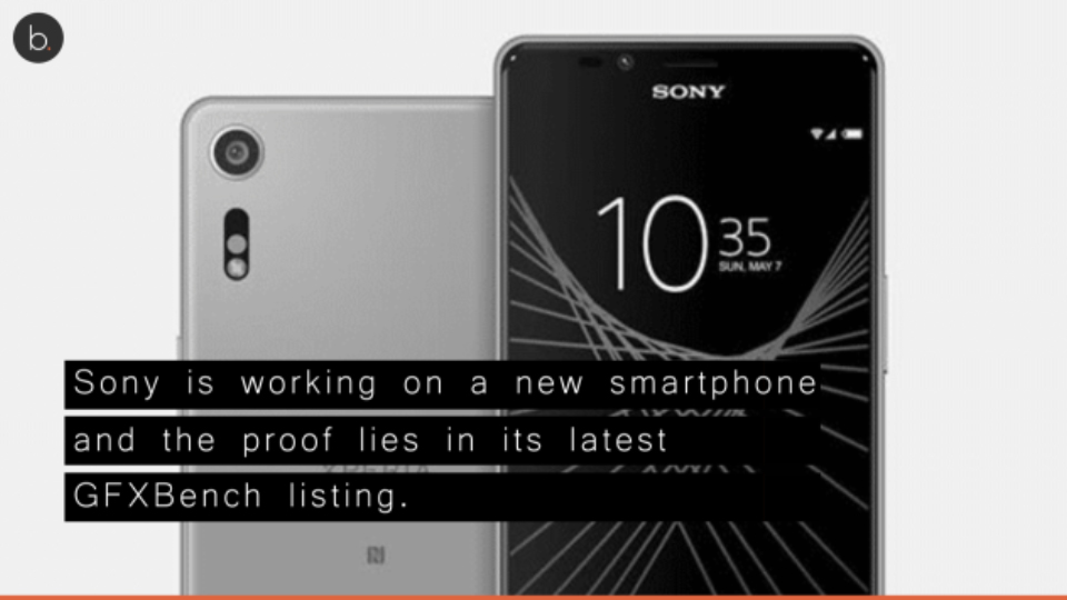 Sony's unnamed device spotted online with a large 6-inch display.