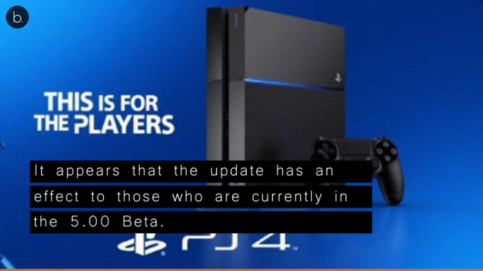 PS4 System Update 4.74 has limitations, Sony discourages to download the update