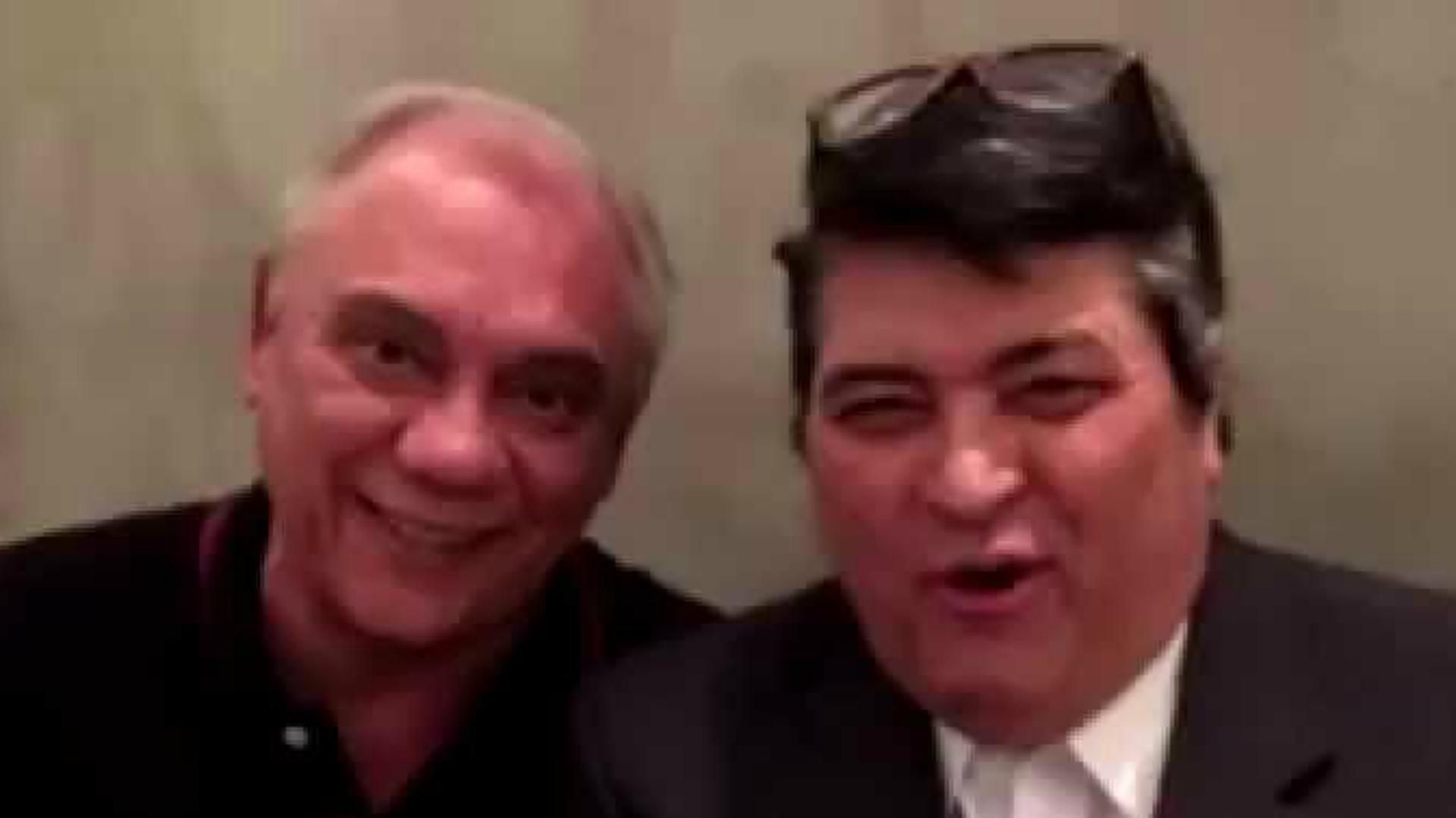 Datena fala sobre a morte do amigo Marcelo Rezende em vídeo emocionante