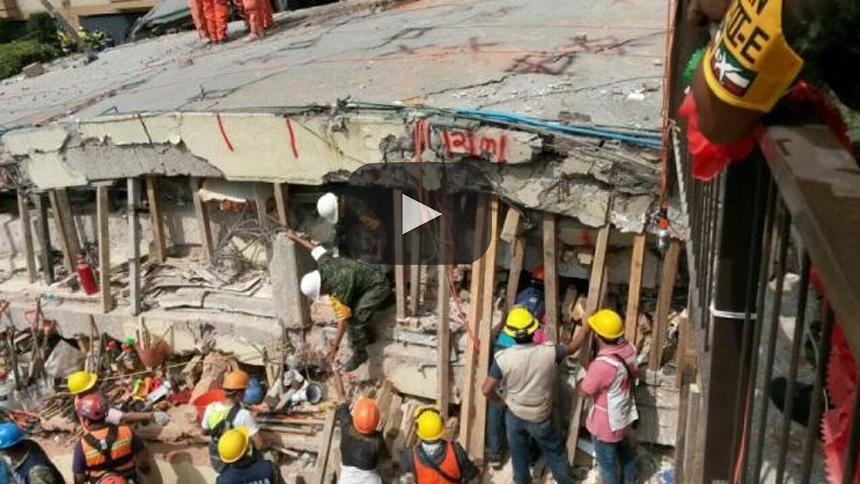 La cara más triste de la catástrofe en México