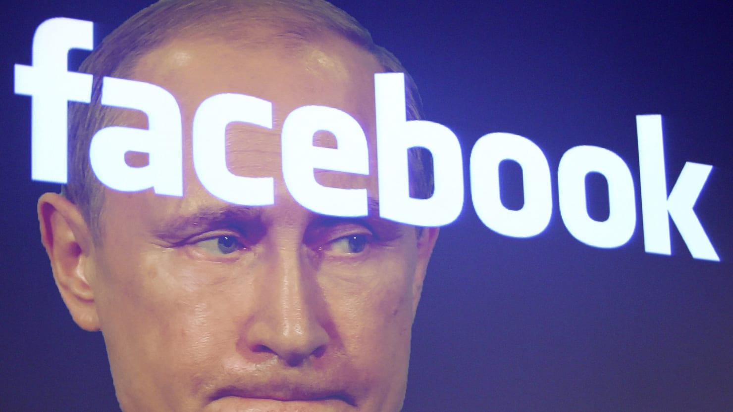 Rússia entra numa guerra digital com Facebook