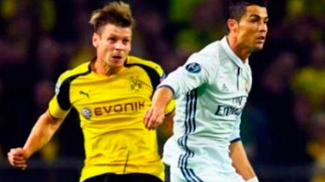 Real Madrid visita al Borussia Dortmund y gana de manera contundente