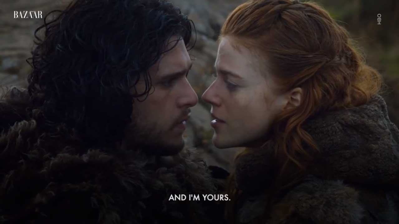 Real to Reel: Relationship of Kit Harington and Rose Leslie's