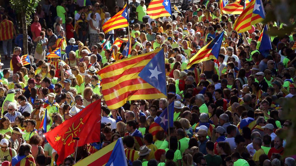 Cataluña, un lugar devastado de España