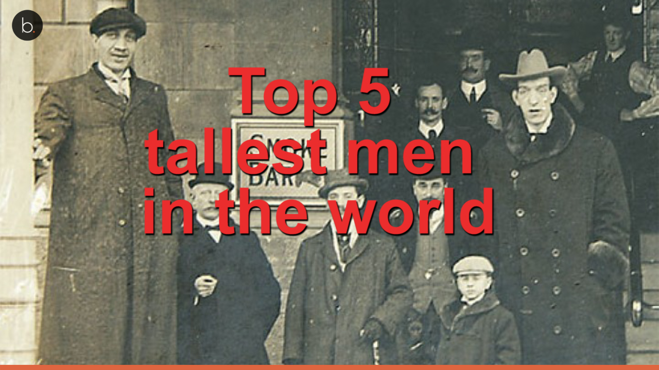 Top 5 tallest men in the world