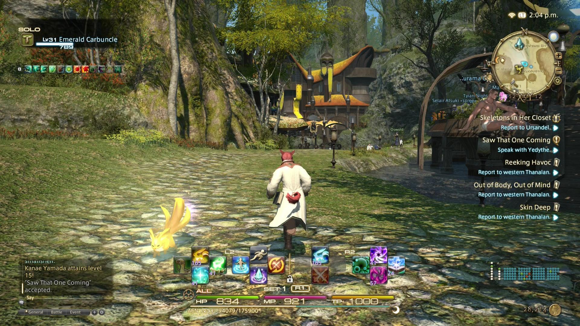 'Final Fantasy XIV' Patch 4.1.