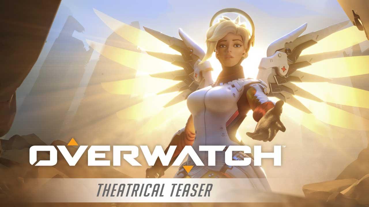 Latest 'Overwatch' update tweaked Mercy, Lucio, and Zenyatta