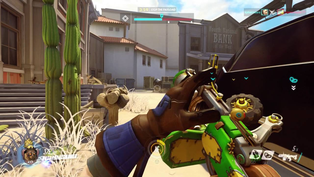 'Overwatch':A good shooter game.