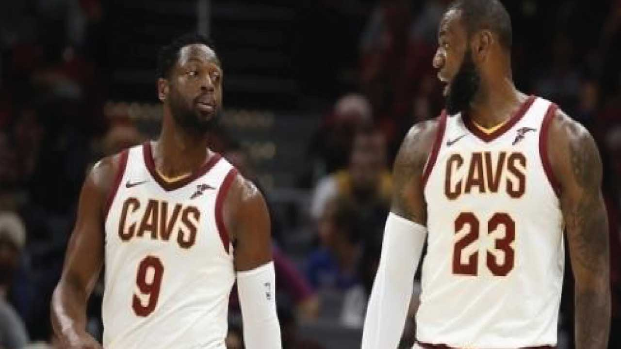 LeBron James says Dwyane Wade needs to...