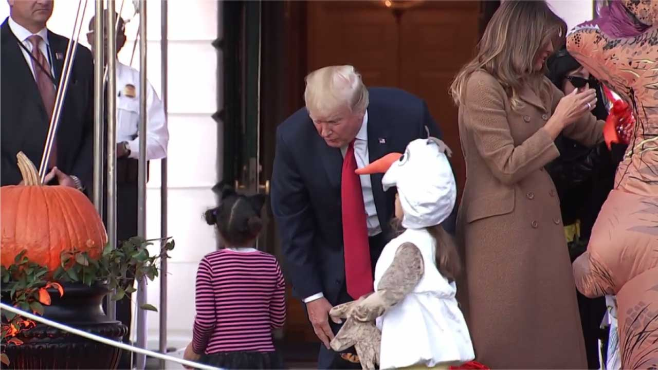 Donald Trump, Melania Trump trolled on Twitter after Halloween event at W.H.