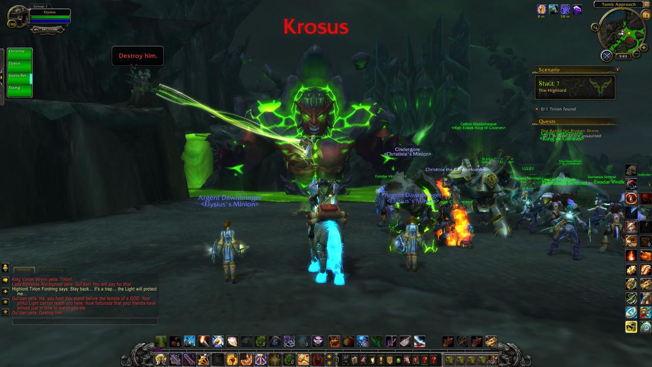 'World of Warcraft' official vanilla server.