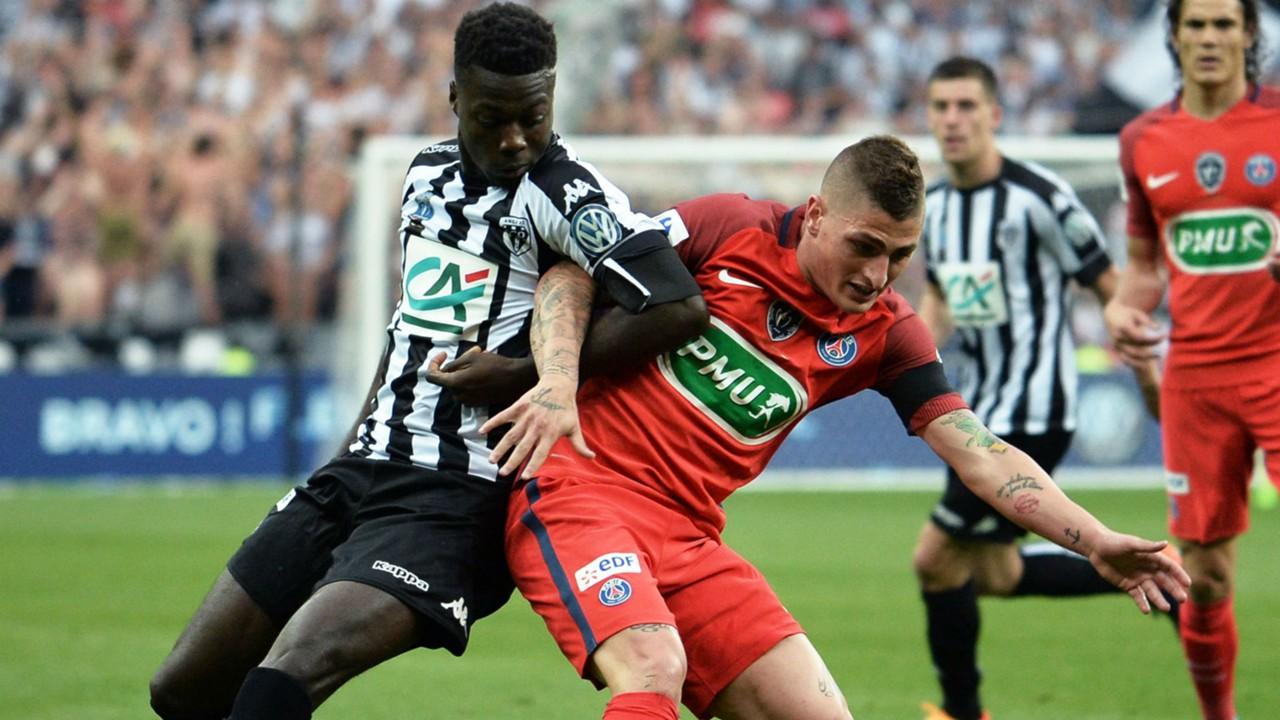 Le PSG en déplacement à Angers