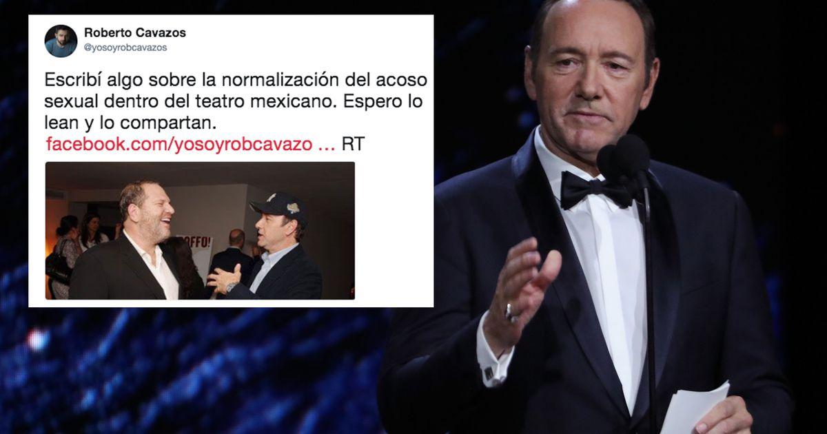 El actor mexicano Roberto Cavazos también acusa a Kevin Spacey