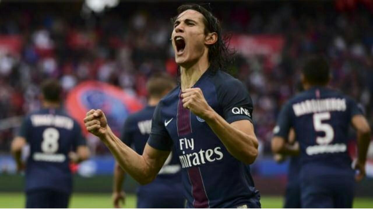 PSG : Cavani, la barre des 100 et record comme Higuain et Zlatan !