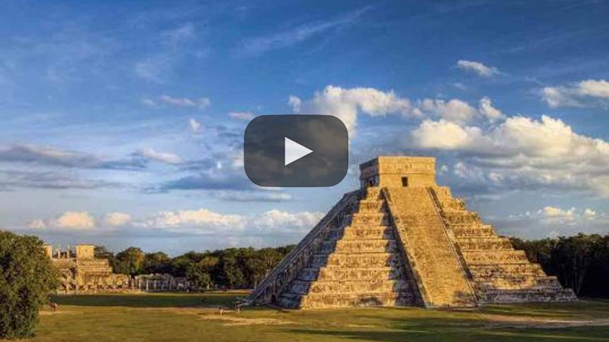 Mapas 3D para cuevas y laberintos de Chichén Itzá