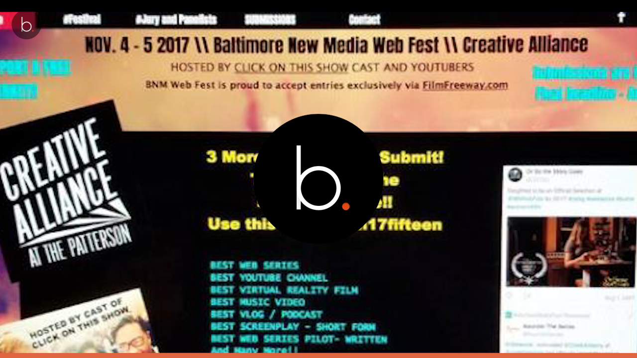 The first annual Baltimore New Media Web Fest is a smash