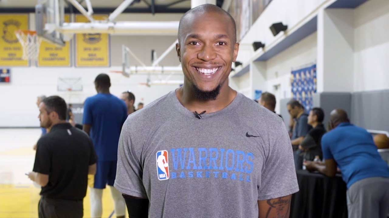 David West of the Golden State Warriors has been amazing off the bench
