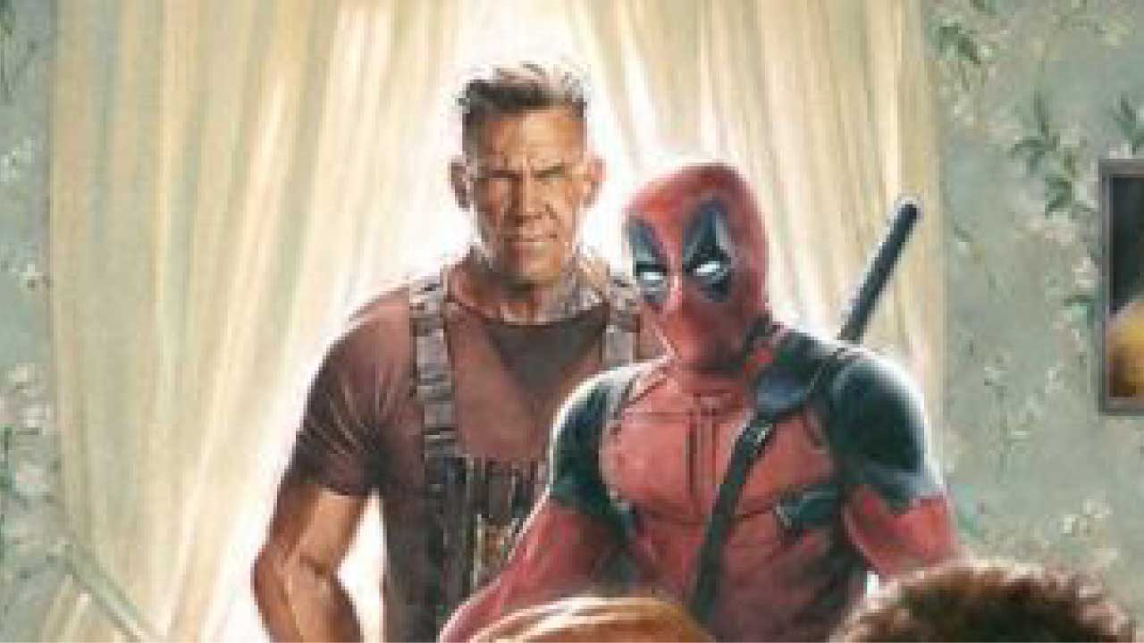 Brand new Thanksgiving themed marketing campaign for 'Deadpool 2'