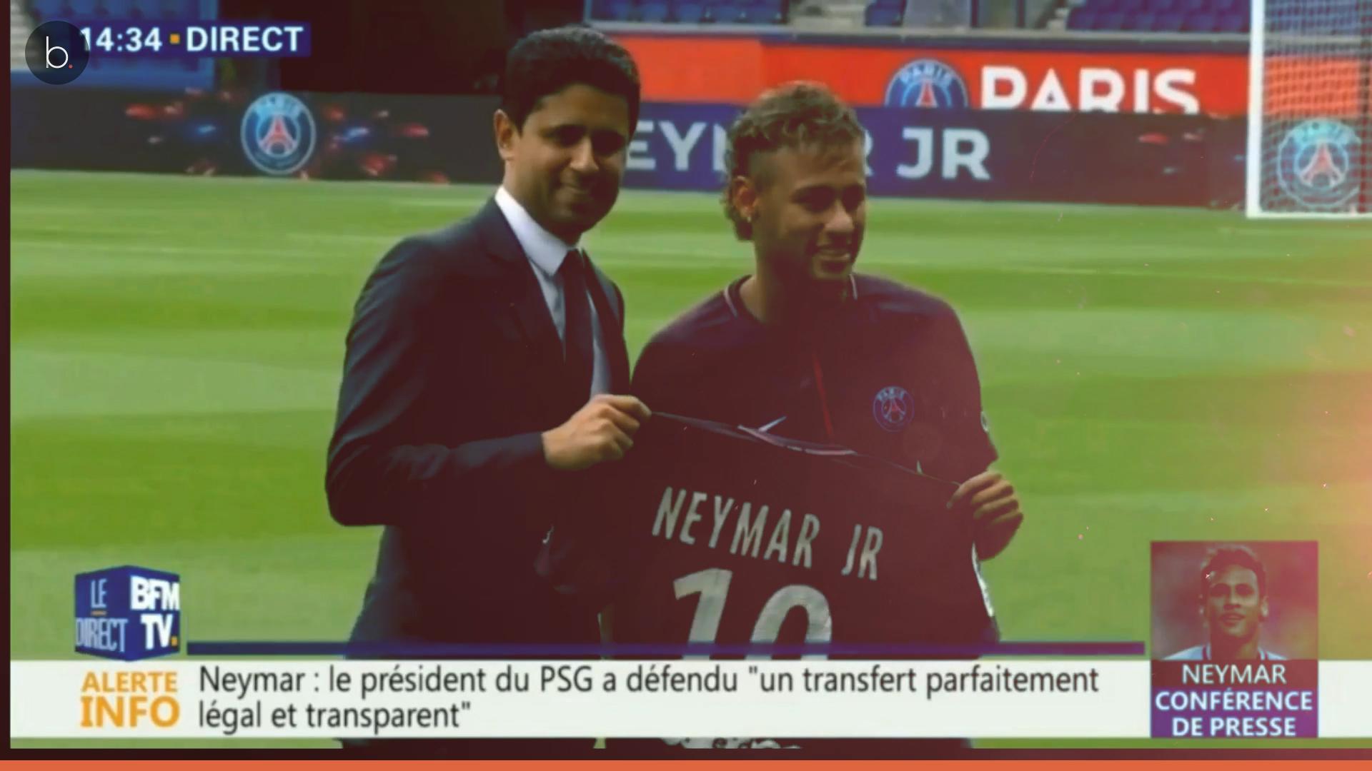 ¿Está pensando Neymar JR en el Real Madrid?