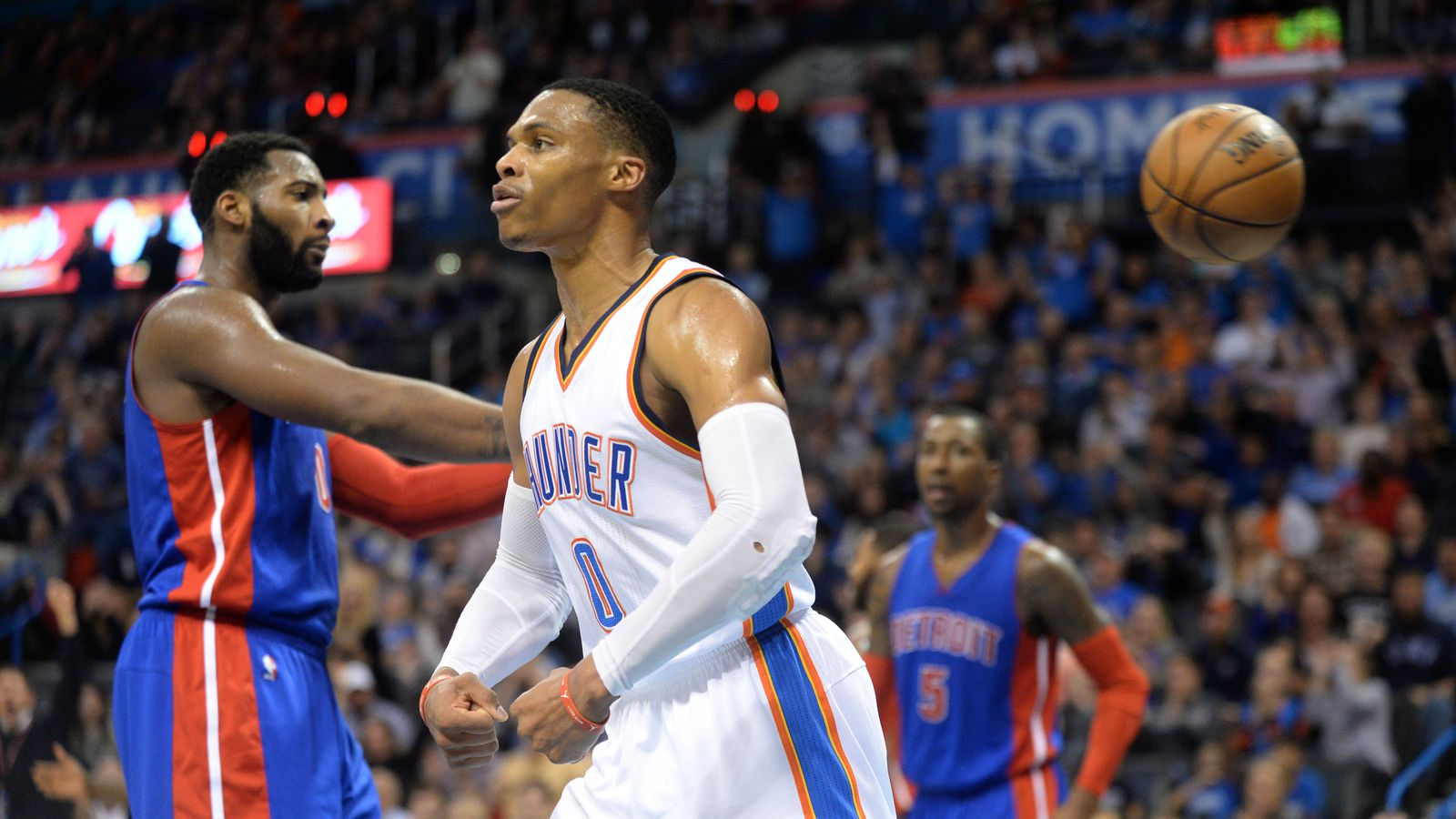 NBA : Oklahoma City enchaîne, Houston déroule.