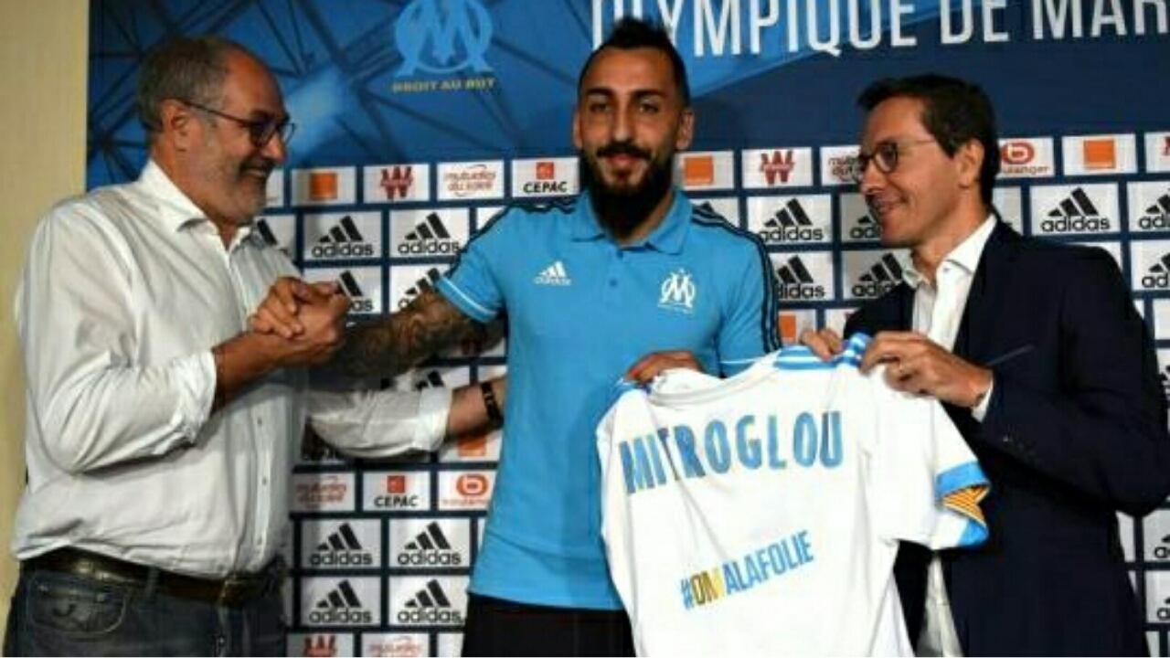 Nouvelle tuile pour Kostas Mitroglou et l'OM !
