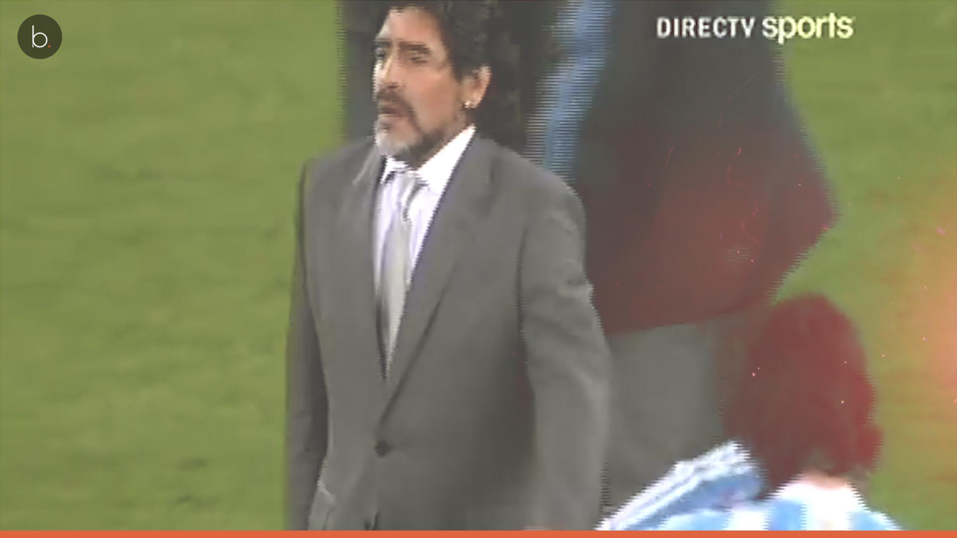 Maradona quiere volver a entrenar a la selección Argentina