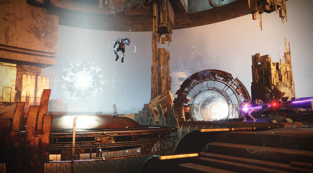 "The first story mission in ""Curse of Osiris"""