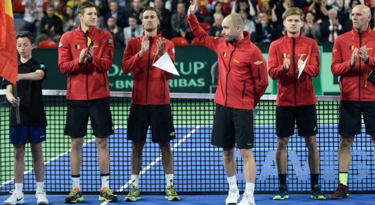 Tennis-Coupe Davis : deux Belges de Bordeaux feront face à la France
