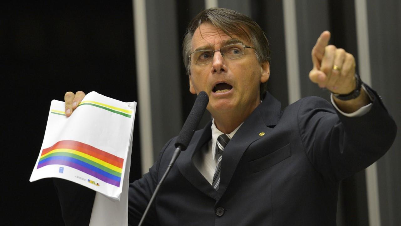 Jair Bolsonaro, o terror dos Comunistas