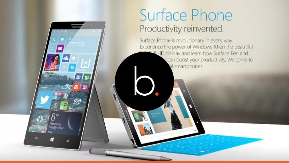 Microsoft Surface Phone releasing soon