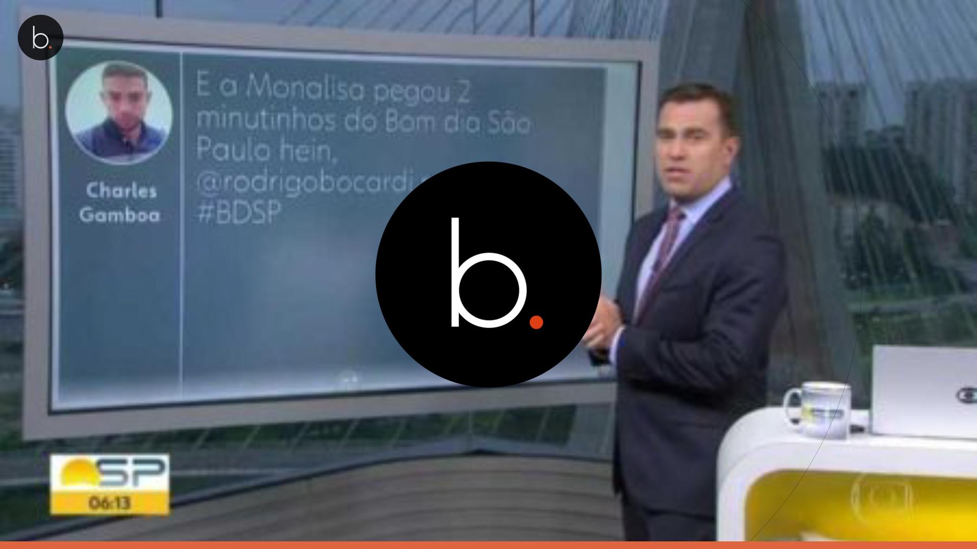 Vídeo: Rodrigo Bocardi faz comentário indevido sobre colega jornalista