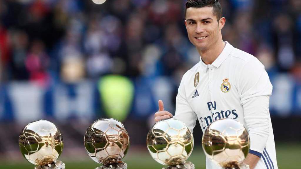 VIDEO: Cristiano recibirá hoy su quinto Balón de Oro