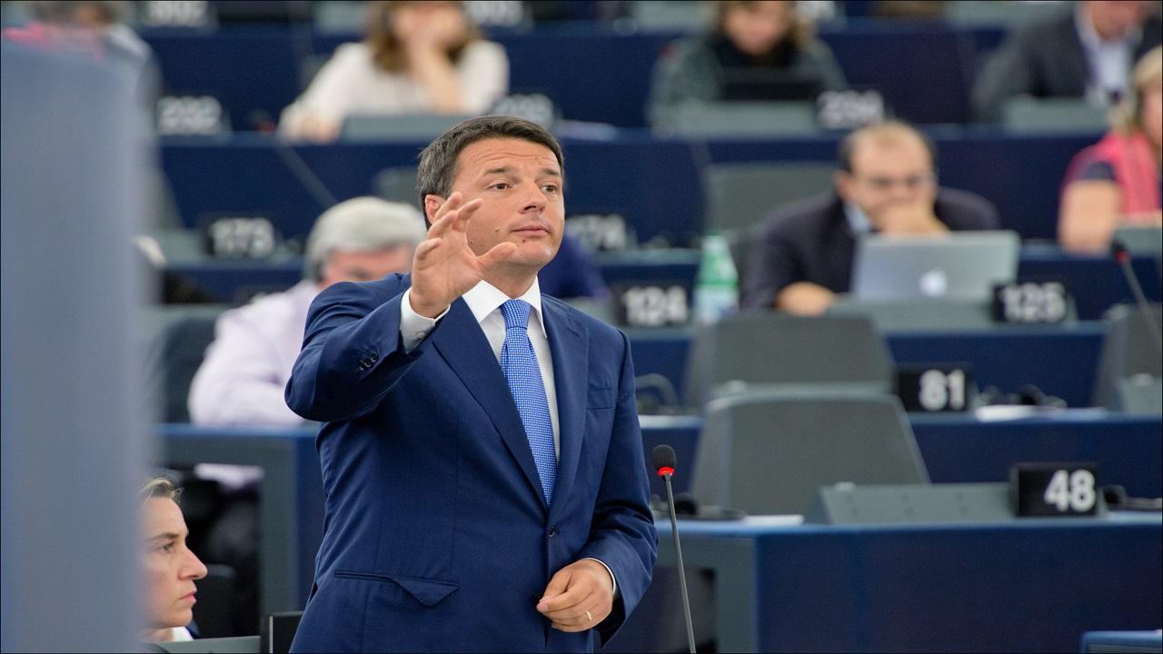 Matteo Renzi in visita ad Agrigente rende omaggio a Livatino