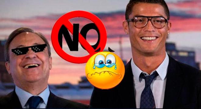 Florentino Pérez explota y abre la puerta de salida a Cristiano Ronaldo