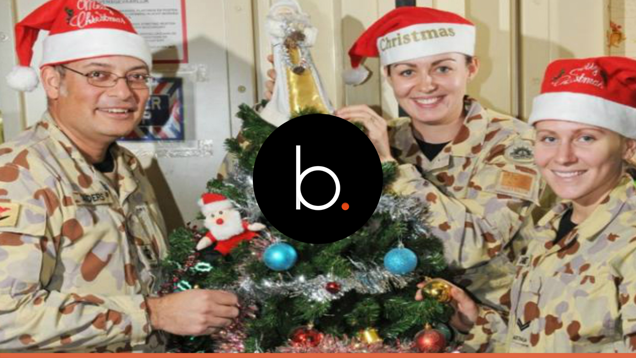 4 Hallmark Channel Christmas movies with full military honors